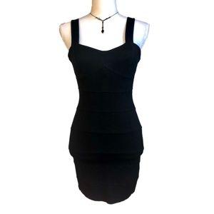 H&M Sleeveless Black Bodycon Mini Dress 6